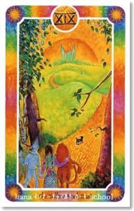 インナーチャイルドカード、太陽